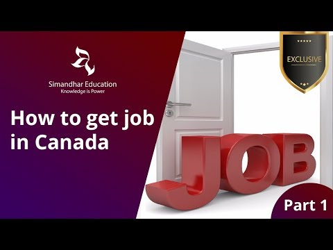 How To Get Job In Canada #CanadaCPA #USCPA #USCMA #ACCA #CanadaImmigration#Part1