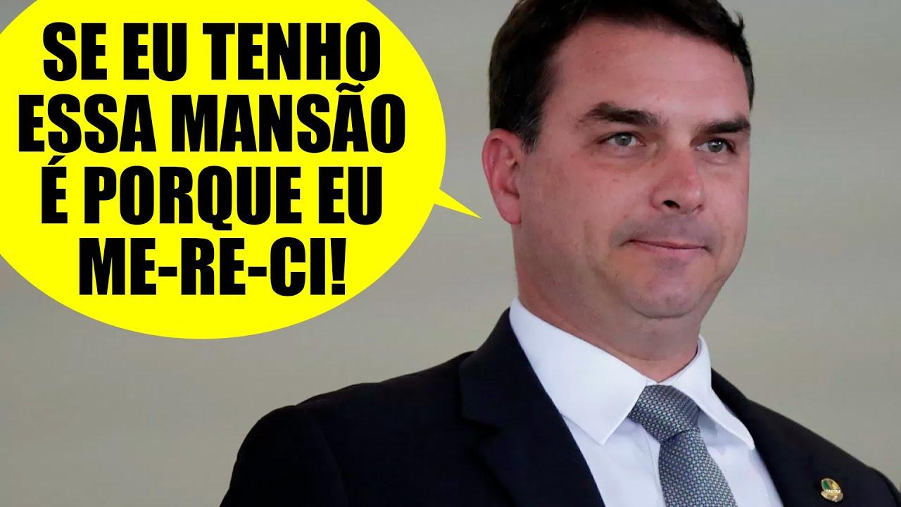 Flavio Bolsonaro e sua mansão que é um deboche - YouTube