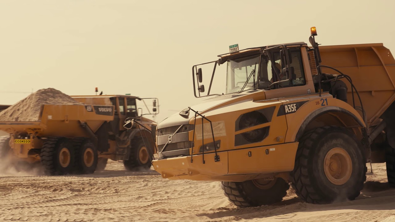 Volvo CE – The Megaproject Listing #4 – Constructing an aerotropolis