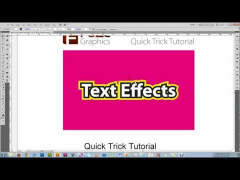 Create Live Text with Stroke Behind Fill - Adobe Illustrator Tutorial.avi