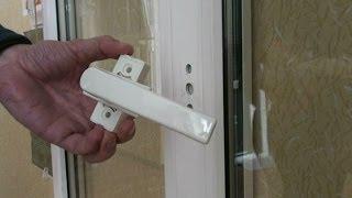 Как заменить ручку на пластиковом окне