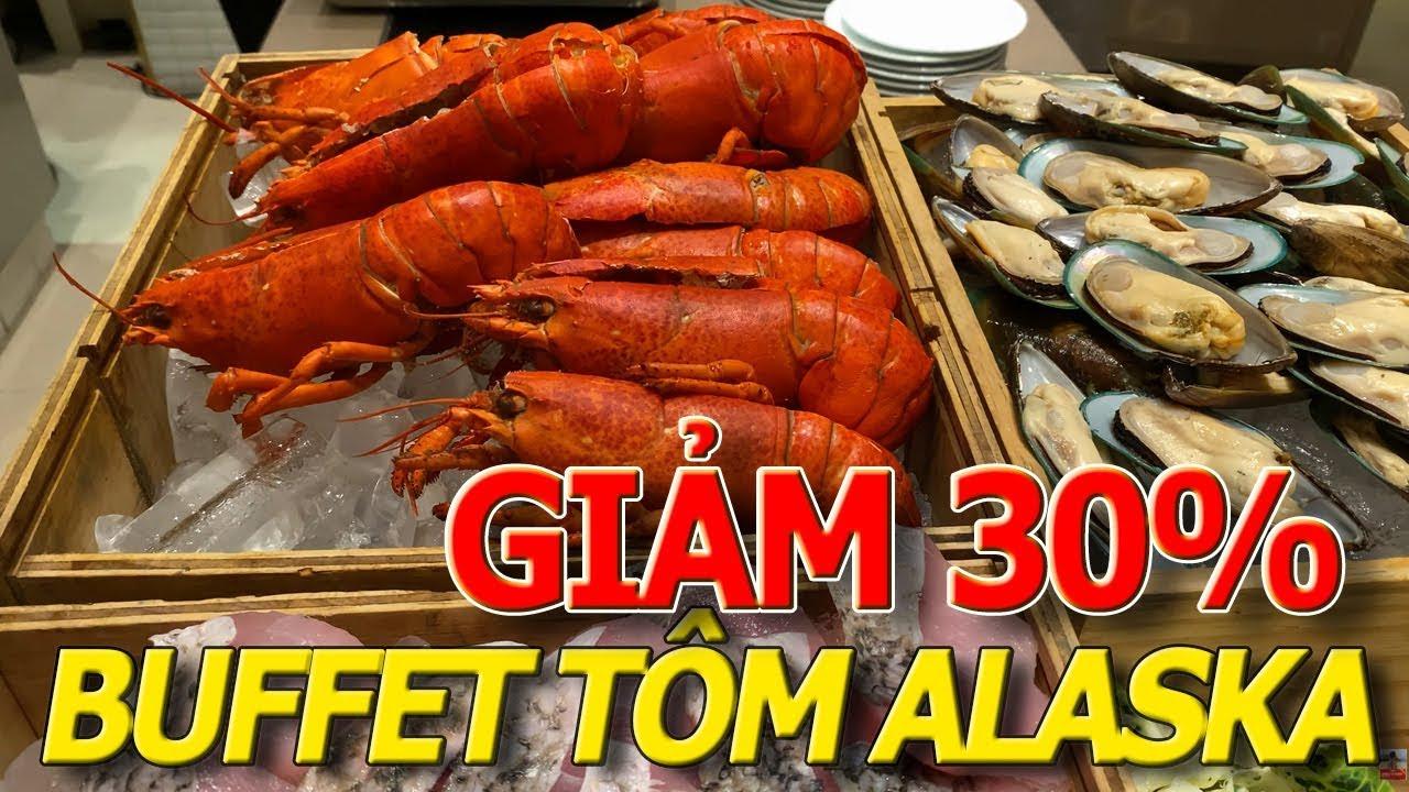 26 TẾT - Buffet TÔM HÙM ALASKA h.o.t.e.l SHERATON 5 SAO sang trọng NHẤT NHÌ SÀI GÒN 2020