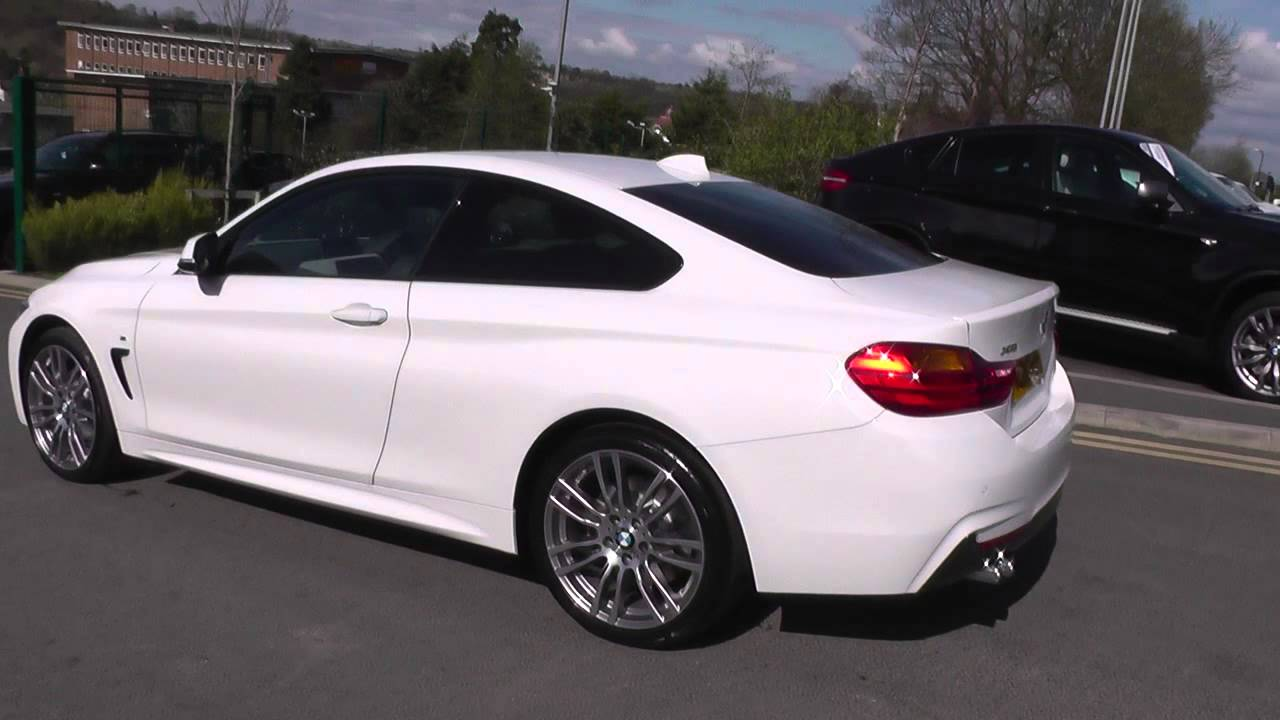 bmw 4 series 430d xdrive m sport 2dr auto u26170 youtube. Black Bedroom Furniture Sets. Home Design Ideas