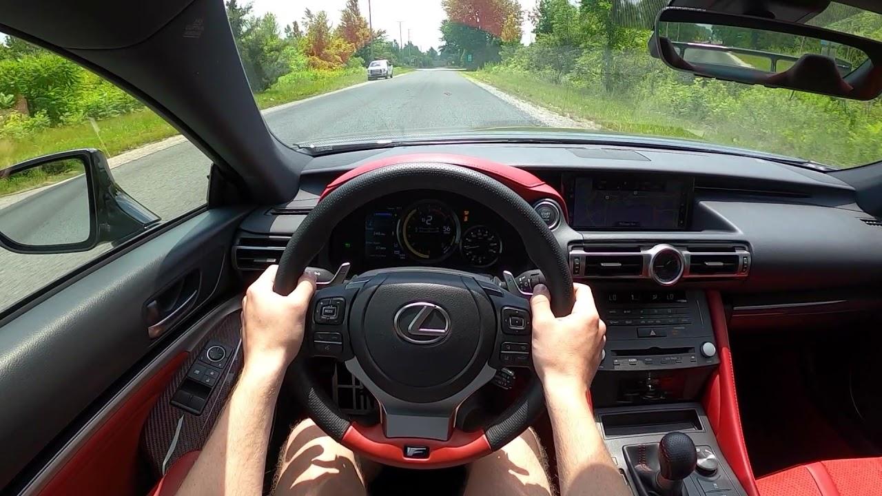2021 Lexus RC F Fuji - POV Test Drive (Binaural Audio)