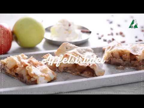 Apfelstrudel Rösselmehl Backvideo