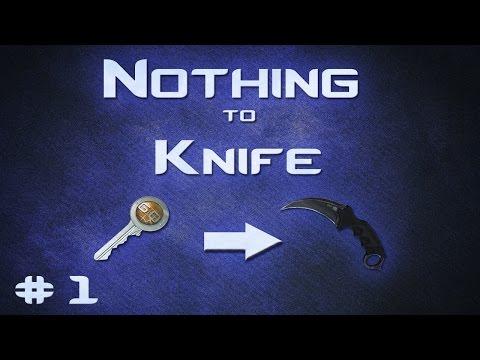 CS:GO Nothing to Knife: Best Method to Start Trading