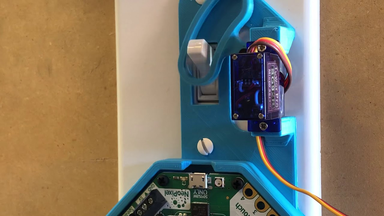 Bluetooth Light Switch nRF52840 w CircuitPython @adafruit @johnedgarpark  #adafruit #bluefruit