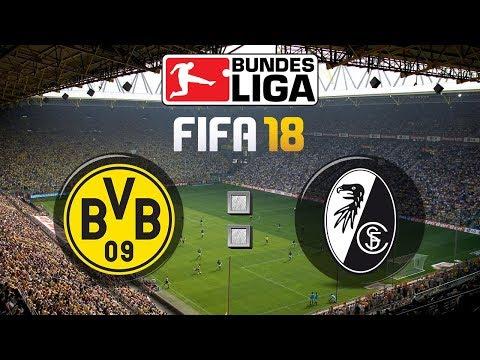 FIFA 18 Bundesliga Borussia Dortmund : Sport-Club Freiburg | Gameplay Deutsch Livestream