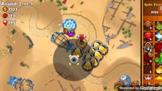 How to beat MOAB Graveyard (Monkey city)