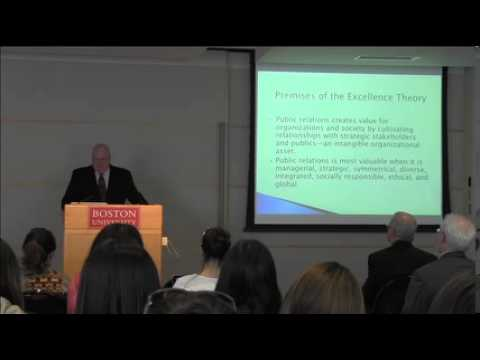 Dr. James Grunig talks PR's influence on management