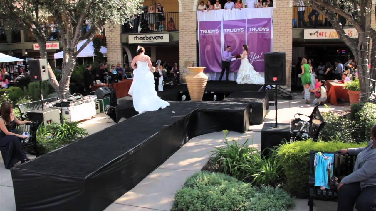 TRUDYS Outdoor Bridal Faire 2011 Fashion Show