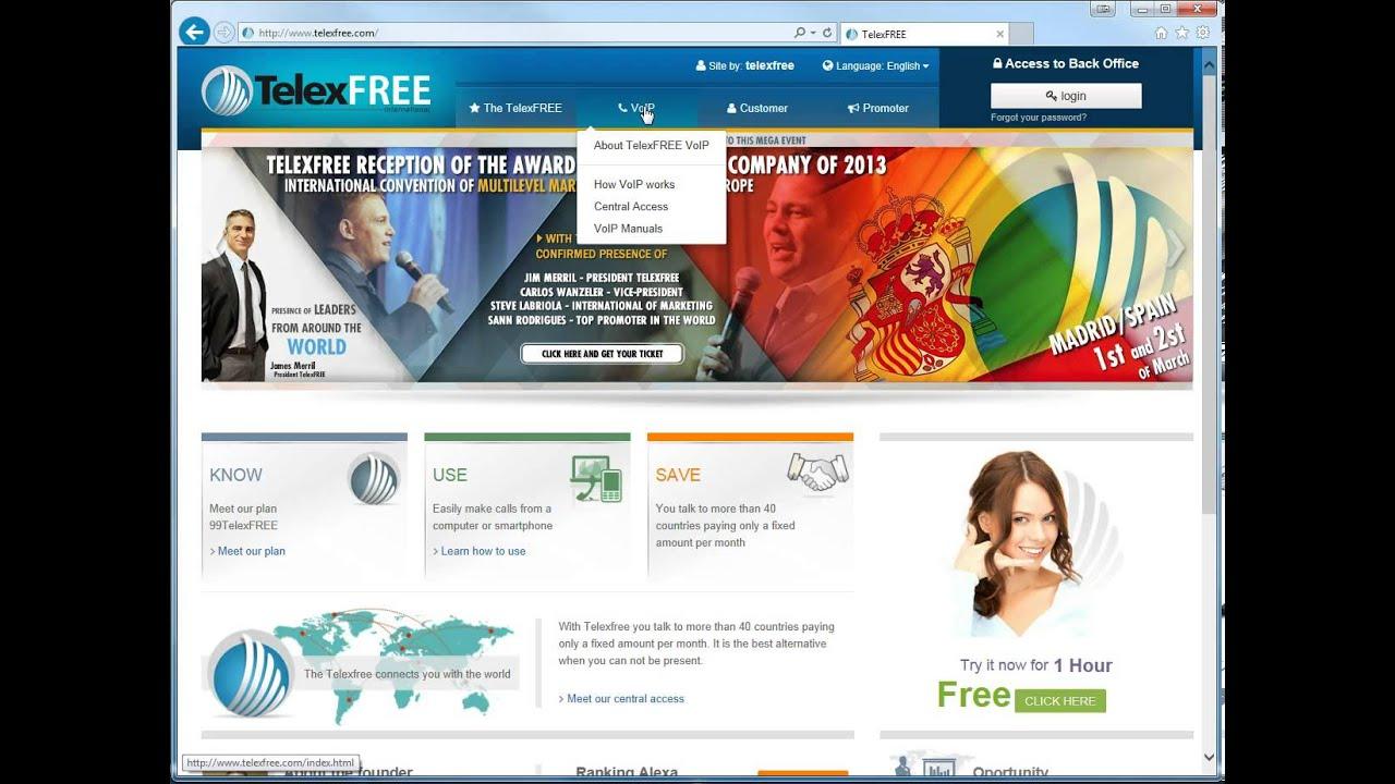 software voip telexfree