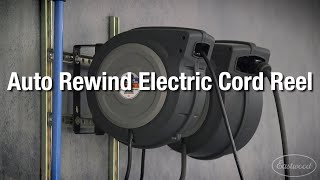 Shop Must-Have: Auto Rewind Electric Cord Reel from Eastwood