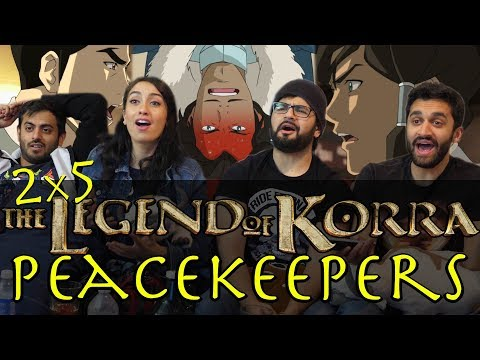 The Legend of Korra - 2x5 Peacekeepers - Group Reaction