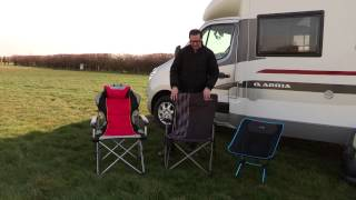 Practical Motorhome reviews folding camping chairs