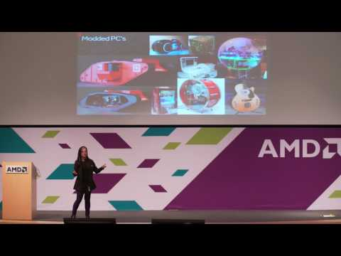 VR Arcade Conference 2017   01   Intro and AMD talk