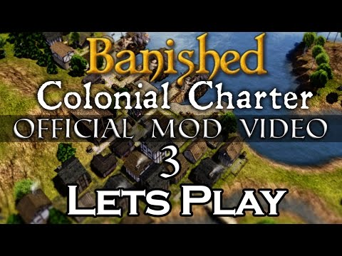 Colonial Charter mod Official Walkthrough / Let's Play #3 - brockens can't cook fish