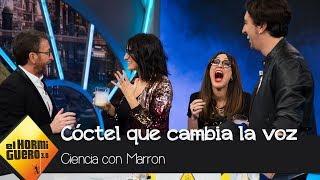 El cóctel otorga una voz de lo más interesante a Silvia Abril y Ana Morgade - El Hormiguero 3.0