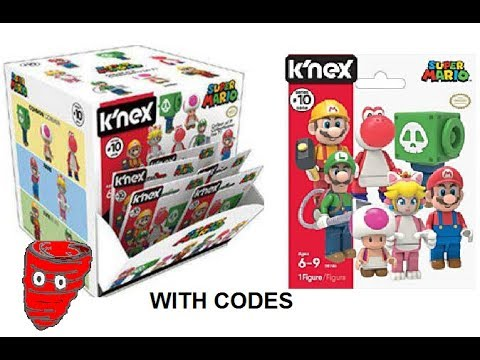 K/'nex Super Mario Buildable Collectible Figure Blind Bag Series 10 Lot of 10