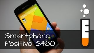 Positivo S480 Smartphone - Vídeo Resenha Brasil