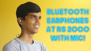 boAt Rockerz 250 In-Ear Bluetooth Headphones with Mic Review!