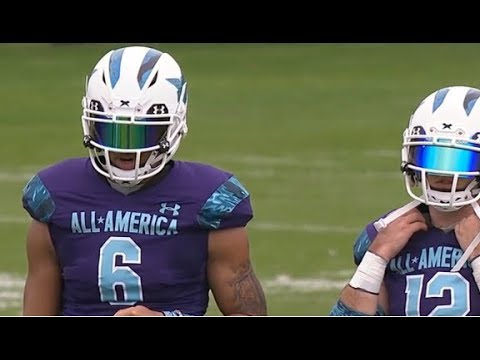High School Football: Under Armour All-America Practice #1 (Dec. 30)