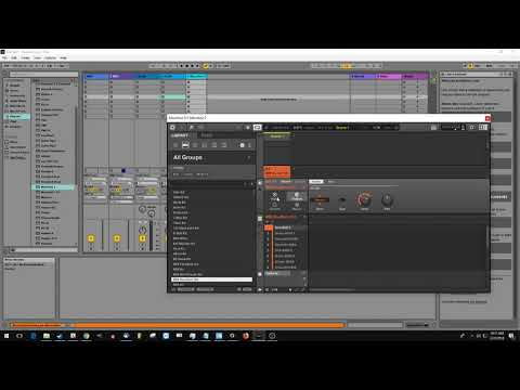 How to Route MIDI from Ableton 9 into Maschine 2.7.2