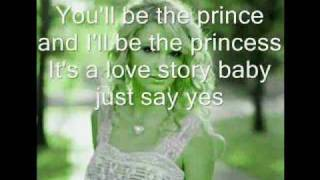 Taylor Swift - Love Story - Lyrics