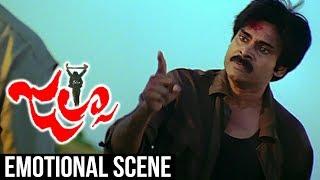 Pawan Kalyan Emotional Scene   Jalsa Interval Scene   Trivikram Srinivas