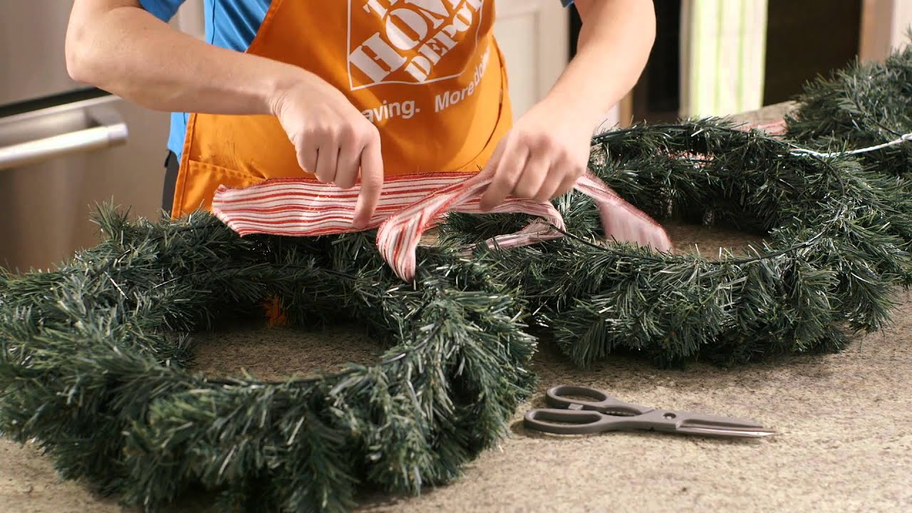 Rosemary Christmas Tree Home Depot.Home Depot Diy Christmas Wreath Trio