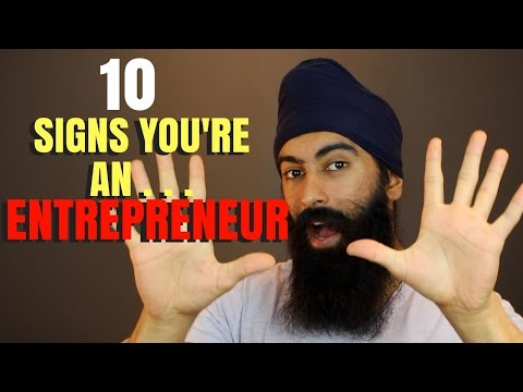 10 Signs You're Meant To Be An Entrepreneur   Minority Mindset - Jaspreet Singh