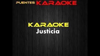justicia silvestre dangond karaoke