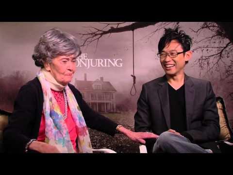 Lorraine Warren and Director James Wan Conjuring Interview