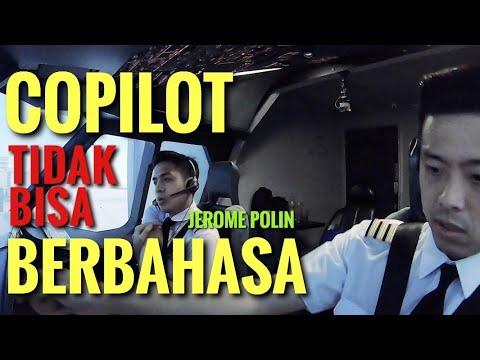 PARAH!! CAPTAIN VINCENT MARAH - Copilot Hanya Bisa JAPANESE ONLY Feat Jerome Polin / Nihongo Mantapp