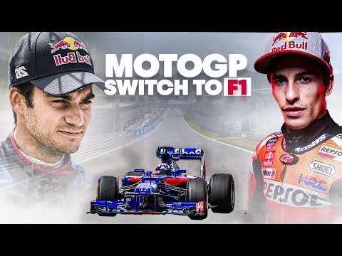 MotoGP & MXGP Champs Swap Their Bikes For An F1 Car   Two to Four Wheels   Full Documentary