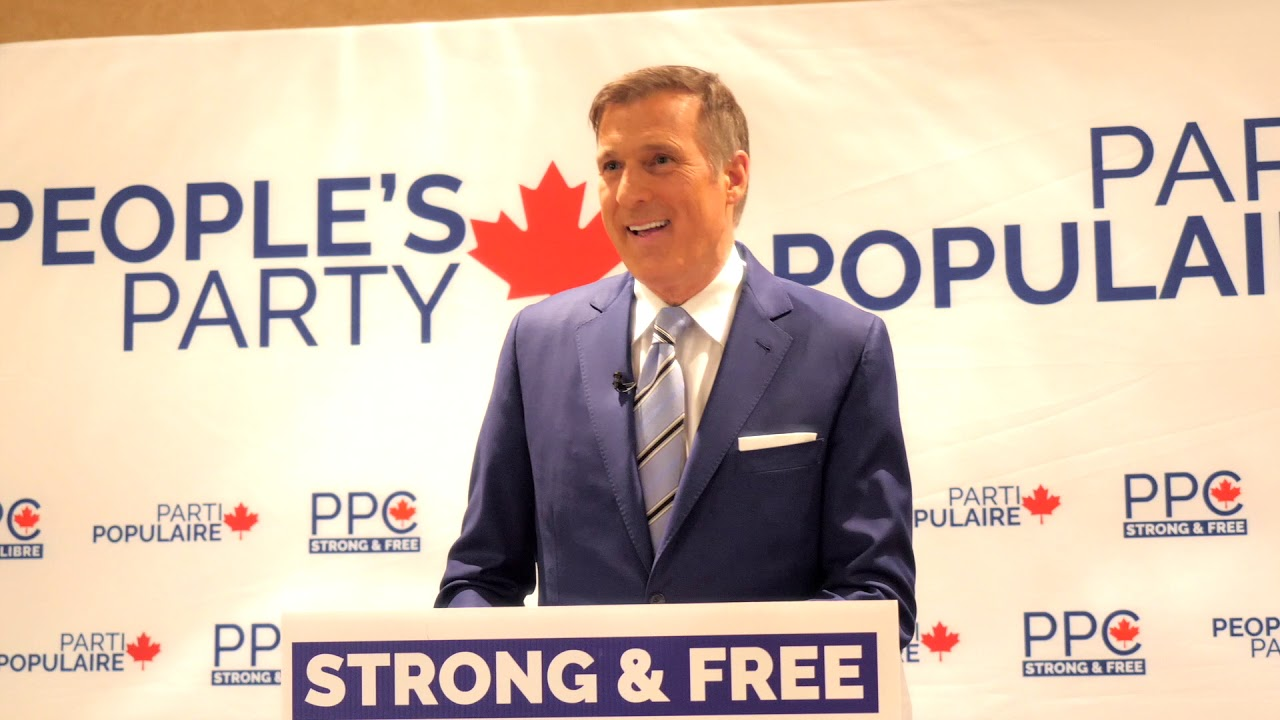 Max Bernier, People's Party of Canada Speech Edmonton March 2019