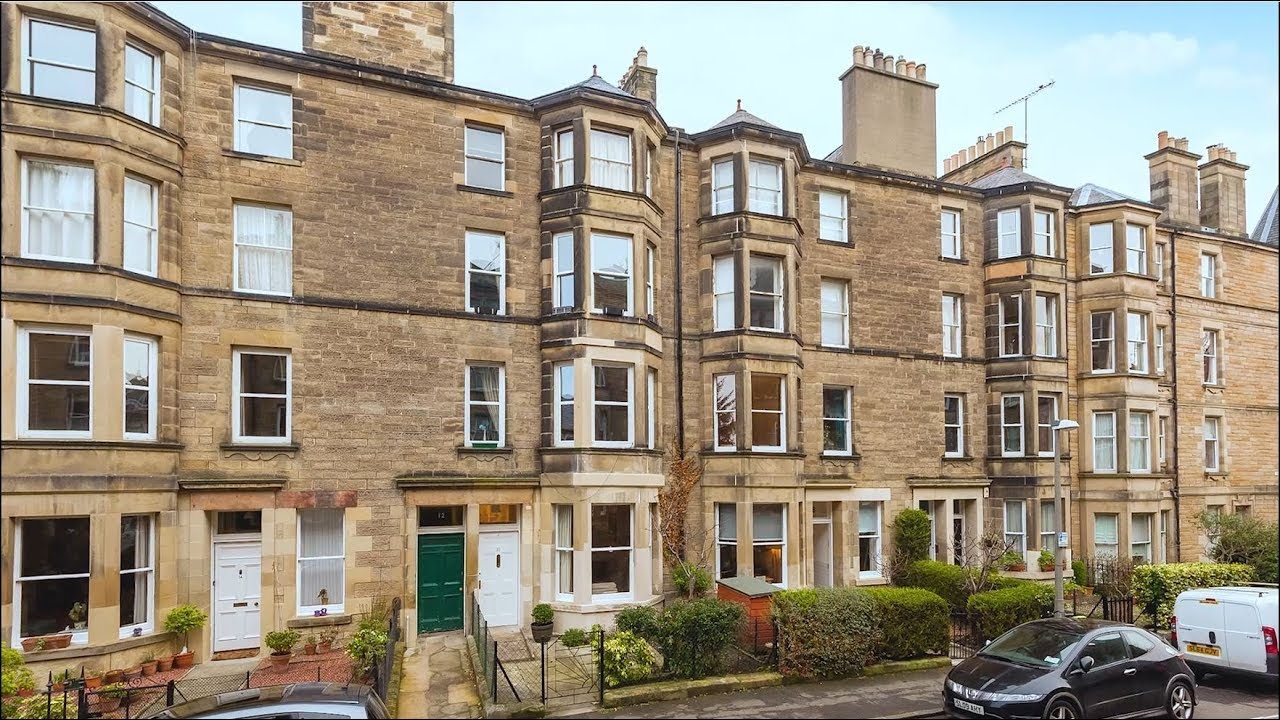 12 Comiston Gardens, Flat 2, Morningside, Edinburgh, EH10 5QH - YouTube