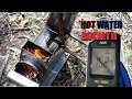 Hot Water Rocket Stove II  - BUILD-