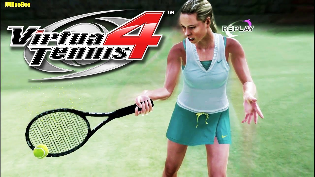 VIRTUA TENNIS 4 - Maria Sharapova vs. Ana Ivanovic (Very ...