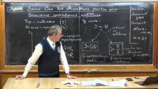 Урок 247. Закон Ома. Вычисление сопротивления проводника