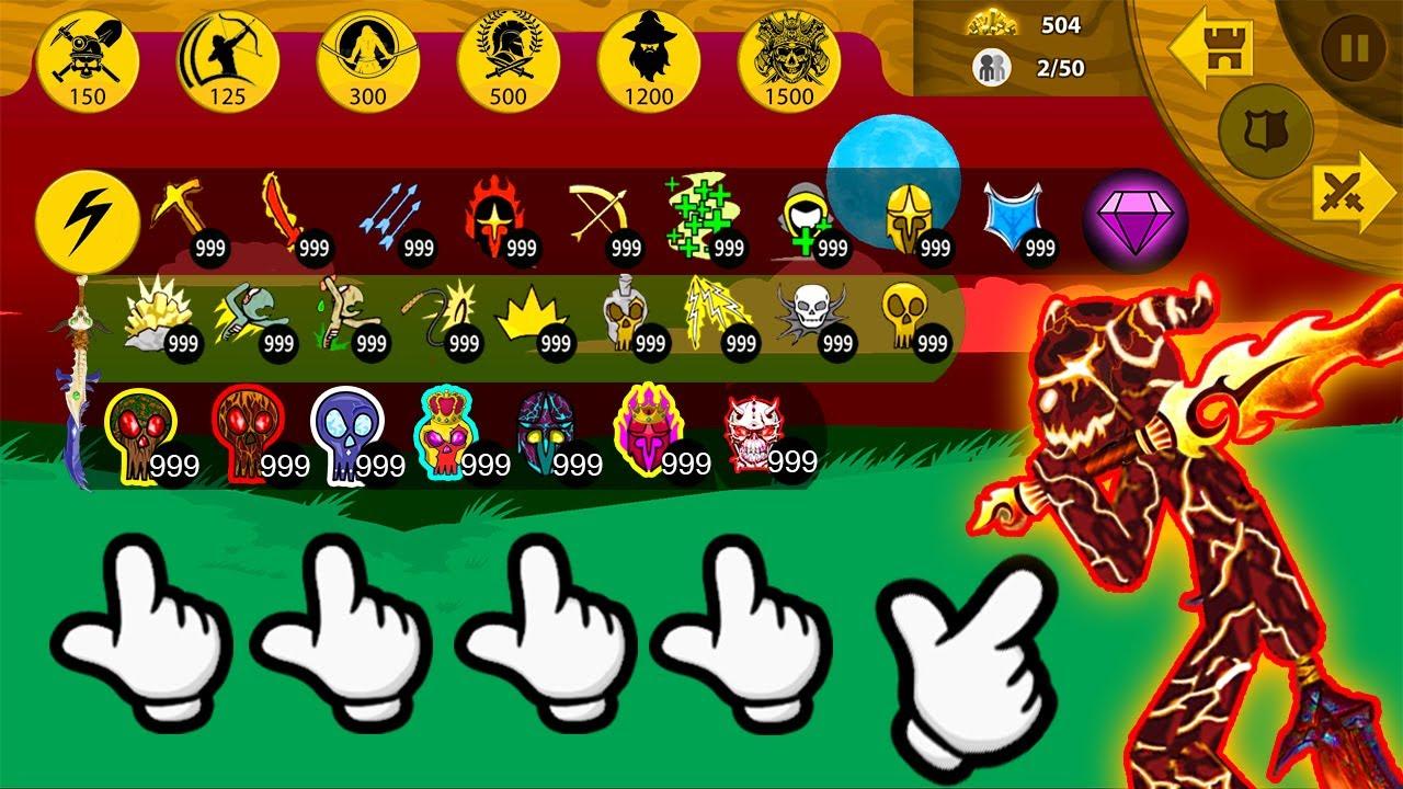 Stick War Legacy Huge Update | MOD 99999 New Head Griffon Great Destroy Final King Boss