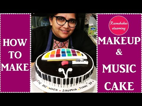 MAKE UP & music:Cake Decorating Tutorial