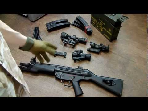 LaZouche Custom airsoft TM MP5A4 review.