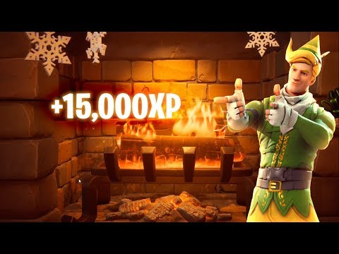 I Got 15,000 XP In The Fortnite Lodge Camp Fire