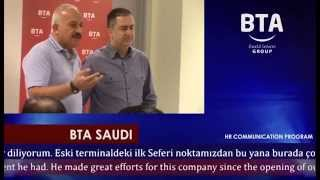 BTA SAUDI INAUGURATION STAFF MEETING