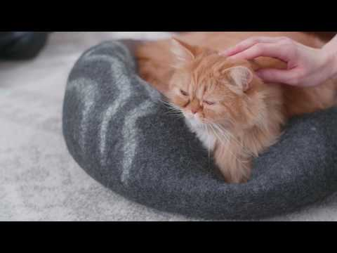 2019-best-cat-cave-,100%-natural-wool-large-cat-cave-by-iprimio---buy-on-amazon!!