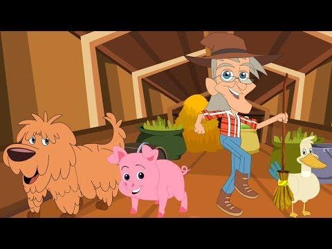 У старого Макдональдса была ферма | звуковая песня животных | русская детская песня | Old Mcdonalds