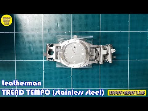 Leatherman TREAD TEMPO watch (stainless steel)