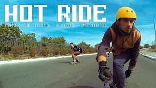 Hot Ride! Longboard Freeride Downhill [ Киев | Вышгород ](Под закрытие сезона всем нам хочется накататься по максимуму, и ребята, пользуясь последними осенними тепл..., 2015-12-11T15:51:05.000Z)