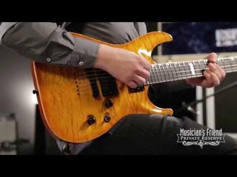 ESP USA Horizon Electric Guitar, Amber Sunburst